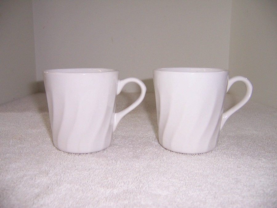 Image of: Corelle Mugs in White