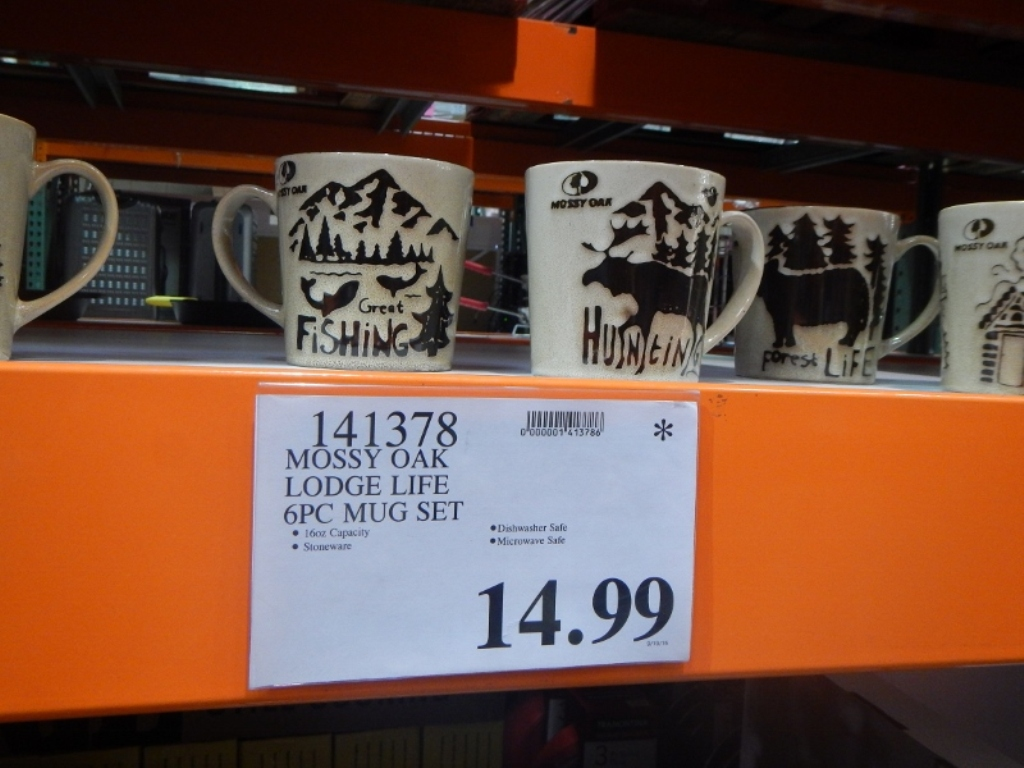 Image of: Costco Mugs Ceramic Stacking