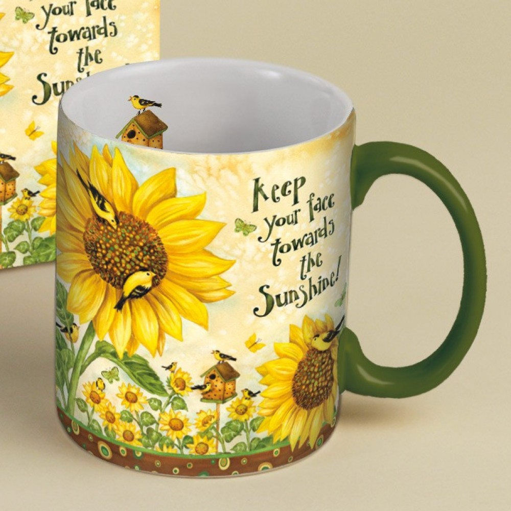 Image of: Creatiive Sunflower Coffee Mug