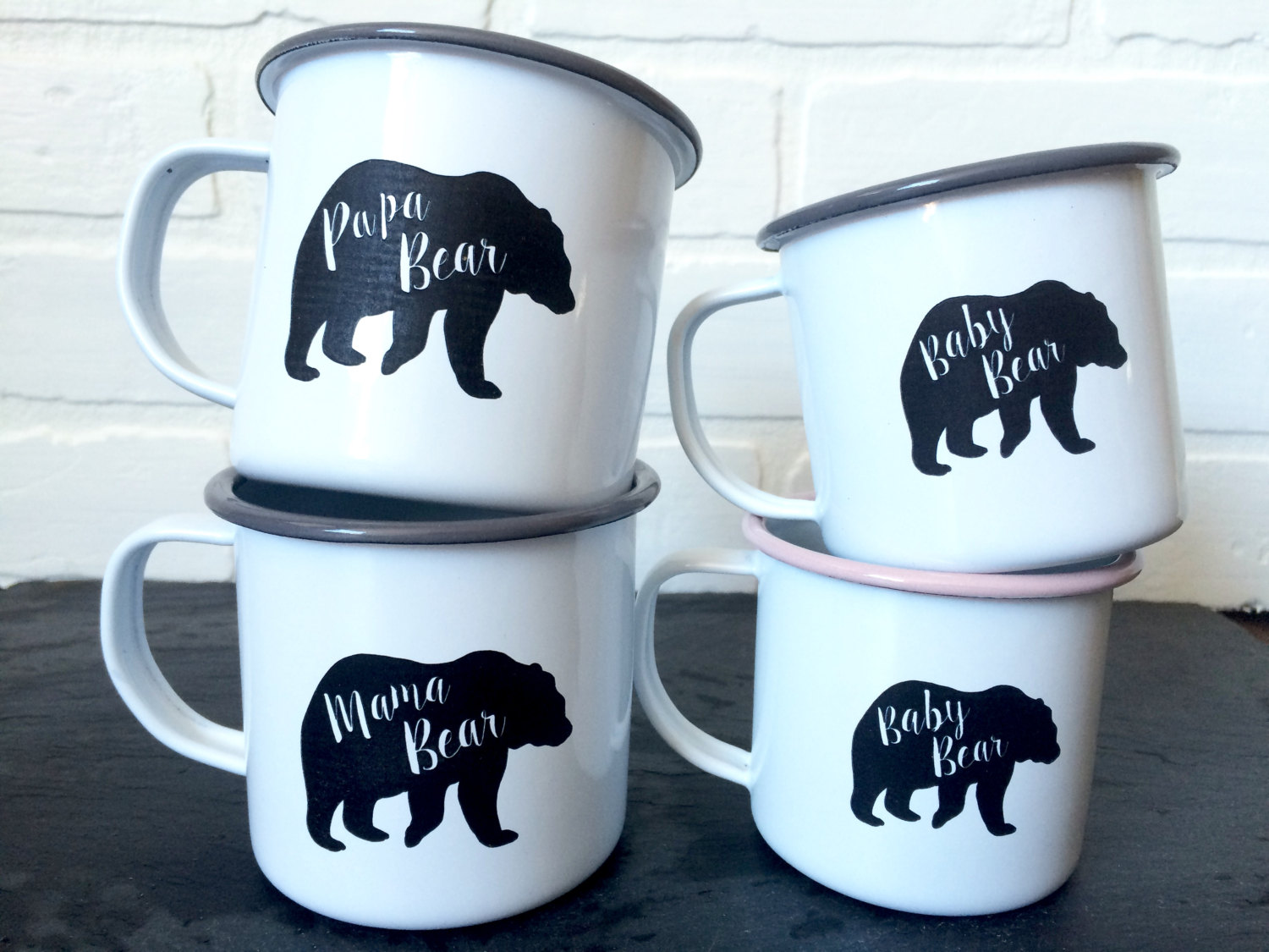 Image of: Custom Tin Mugs Images