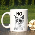 Cute Grumpy Cat Mug