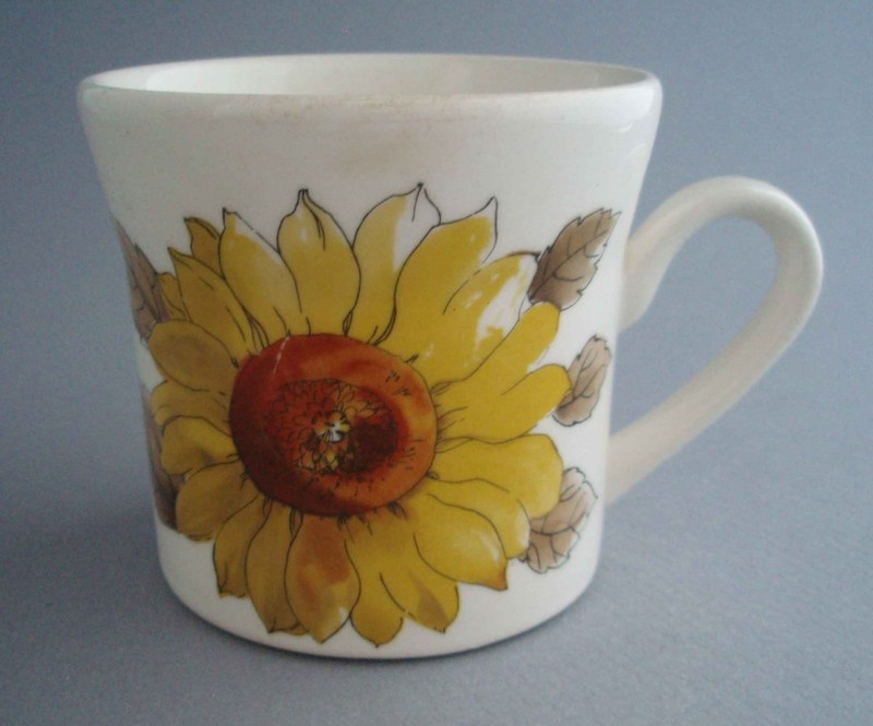 Image of: Cute Sunflower Coffee Mug