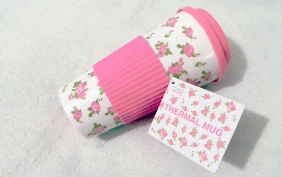 Image of: Cute Thermal Mugs Pink