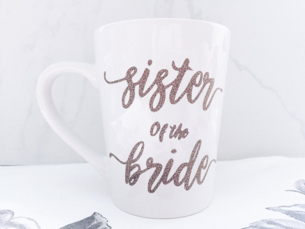 Image of: DIY Bridesmaid Mug