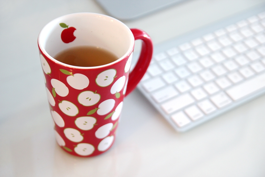 Image of: David's Tea Mugs on Desk