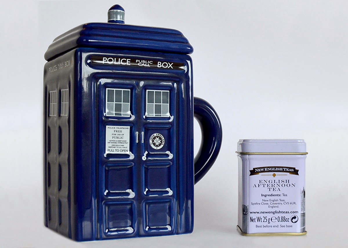 Image of: Doctor Who Tardis 2d Mug