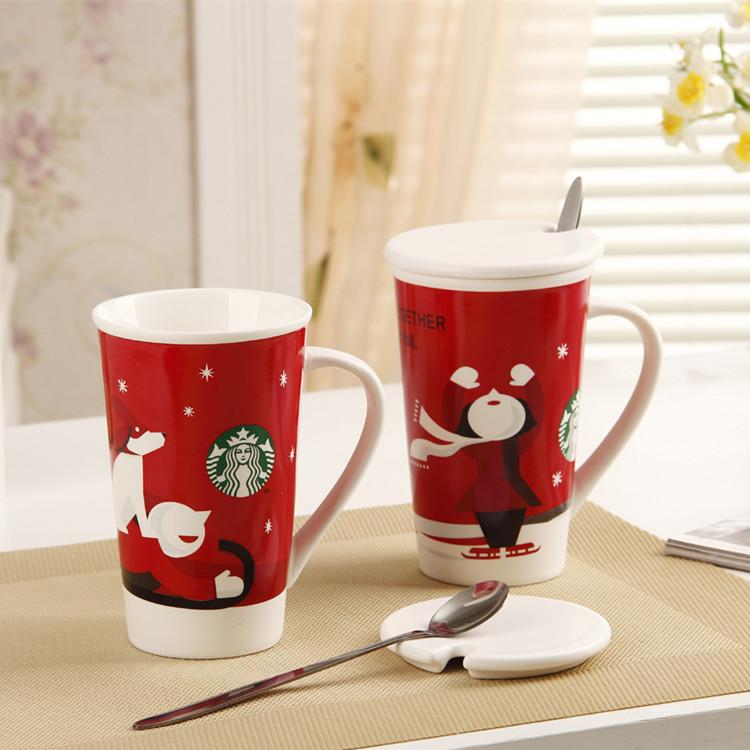 Image of: Double Snowman Coffee Mug