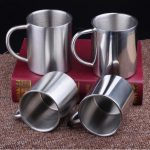Double Wall Stainless Steel Coffee Mugs