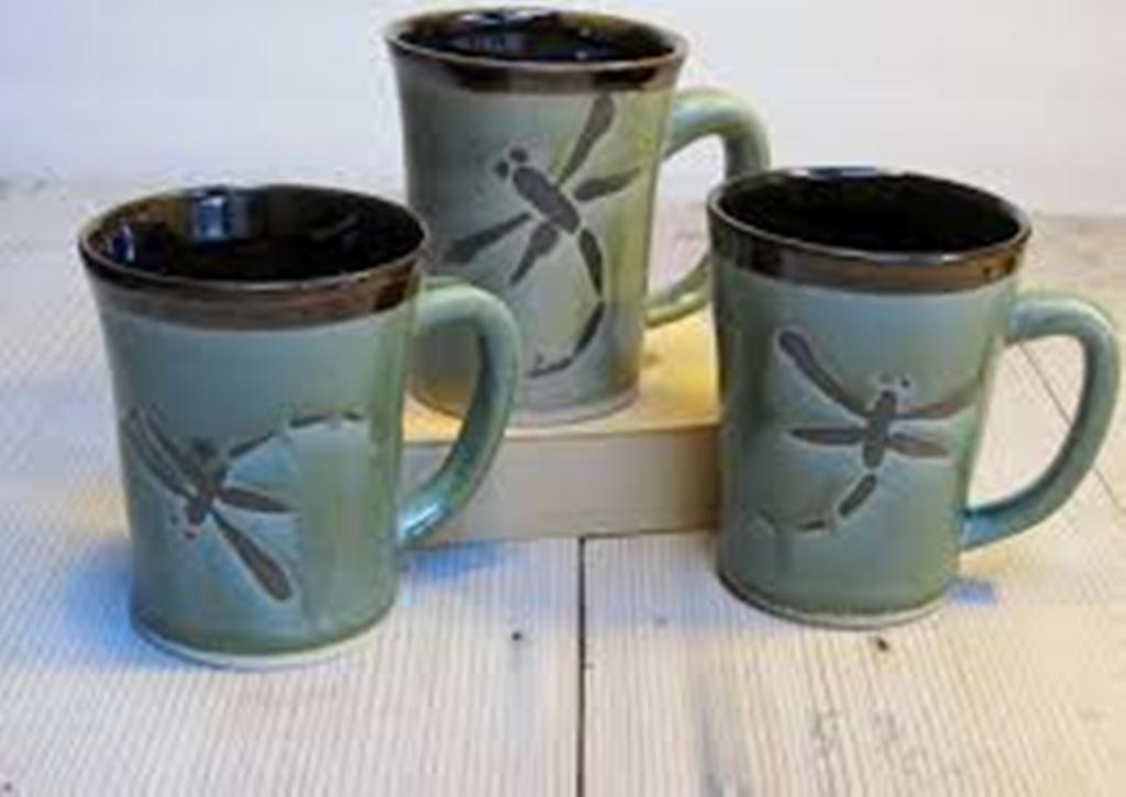 Dragonfly Coffee Mugs With Logo