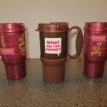 Dunkin Donuts Travel Mug Color Options