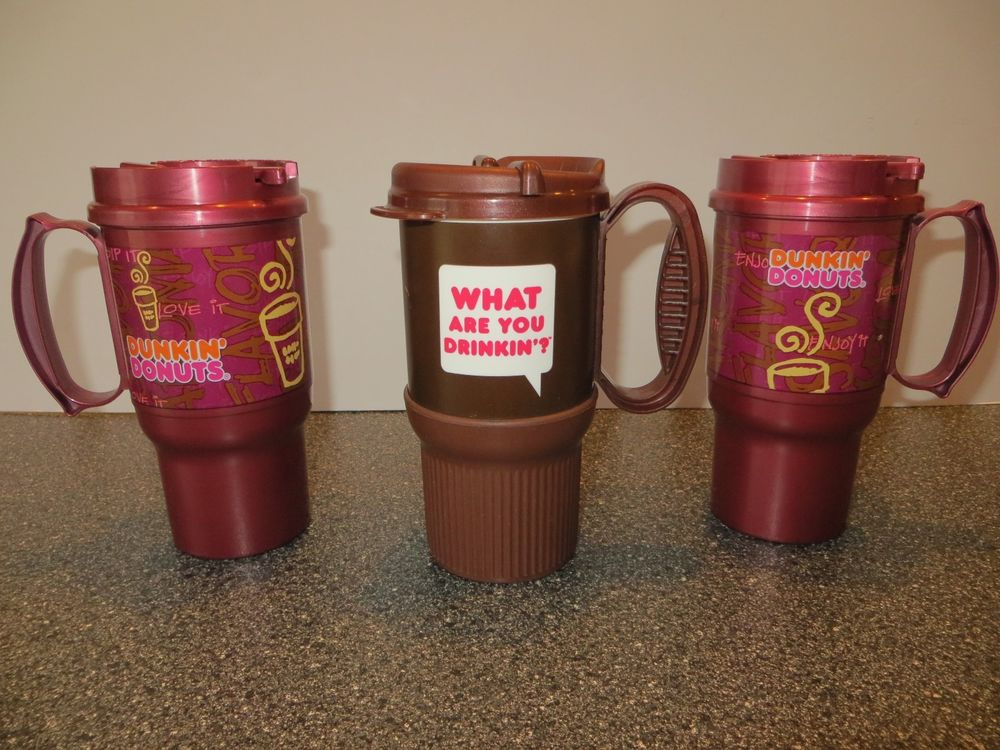 Image of: Dunkin Donuts Travel Mug Color Options