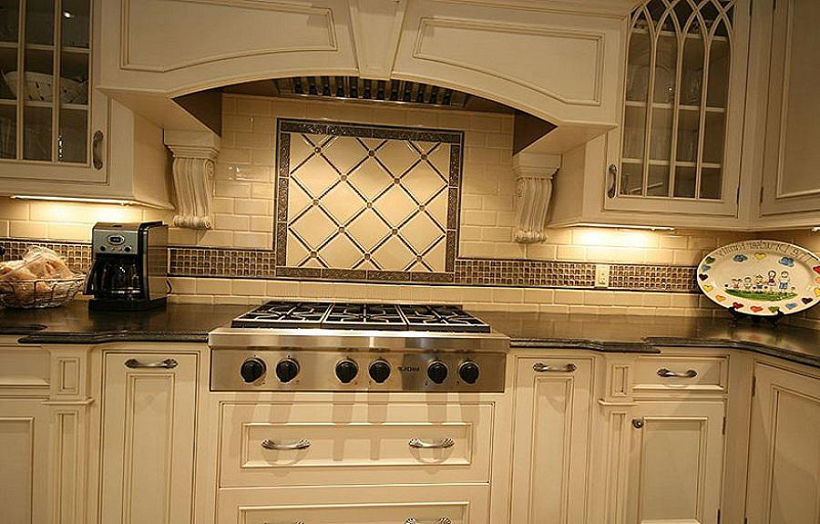 Image of: Elegant Kitchen Backsplash Designs Ideas