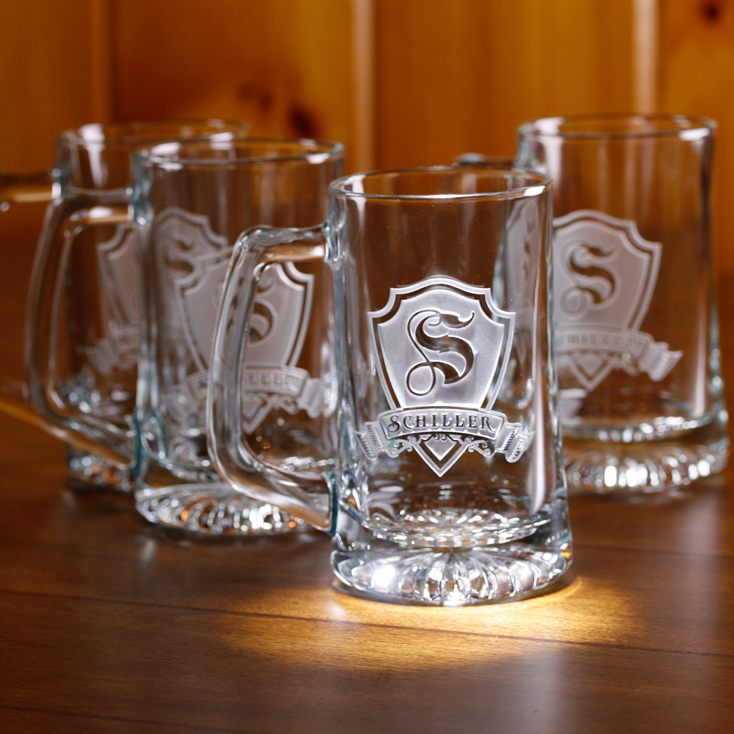 Image of: Engraved Beer Mugs Glasses