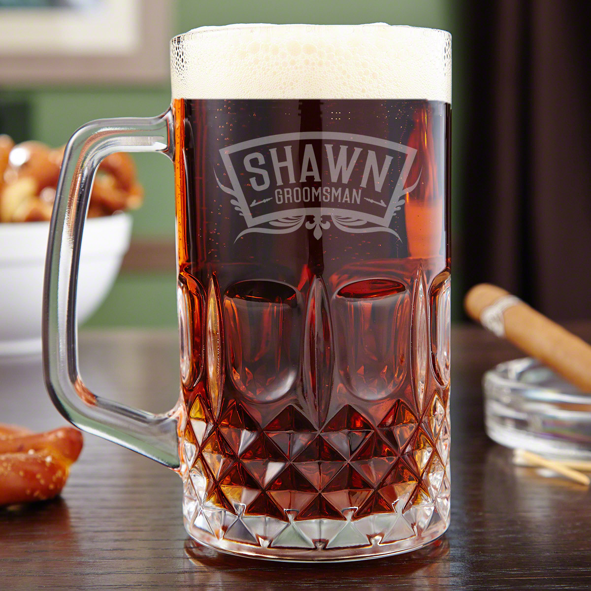 Image of: Engraved Beer Mugs