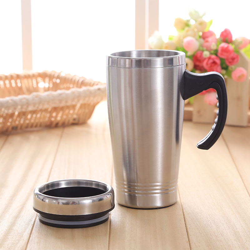 Image of: Famous Thermos Travel Mug With Handle