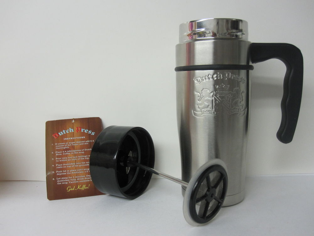 Image of: French Press Travel Mug Coffee