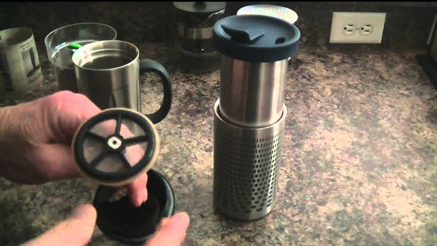 Image of: French Press Travel Mug System