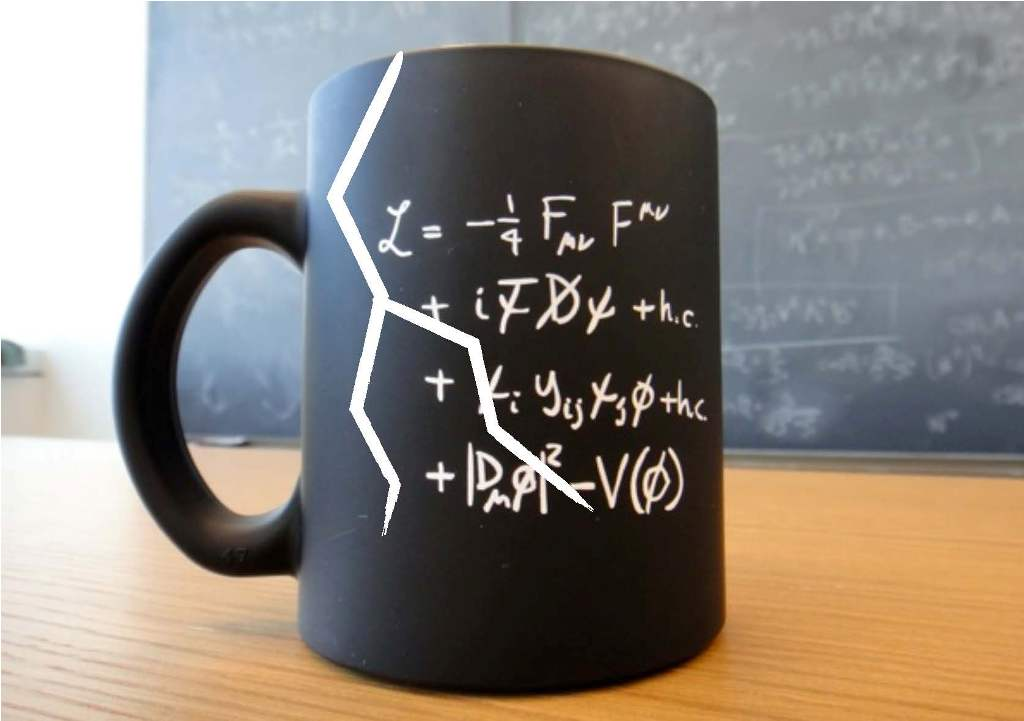 Image of: Funny Physics Mug