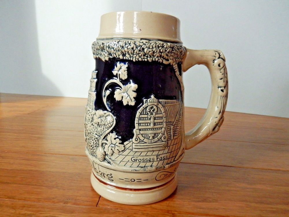German Stein Mug Coffee Plunger