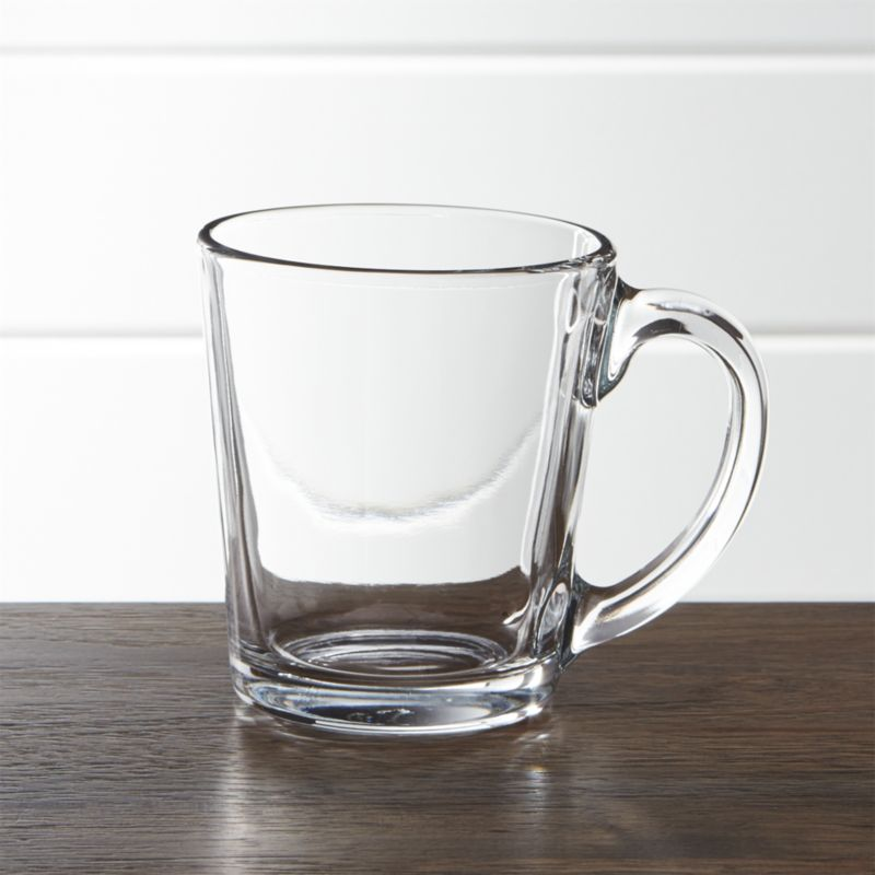 Image of: Glass Oversized Coffee Mugs