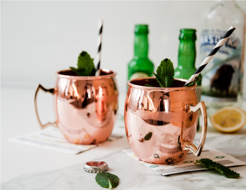Image of: Good Copper Mugs Moscow Mule