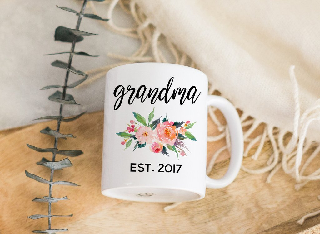Image of: Grandma Mug in a Box Gift Set