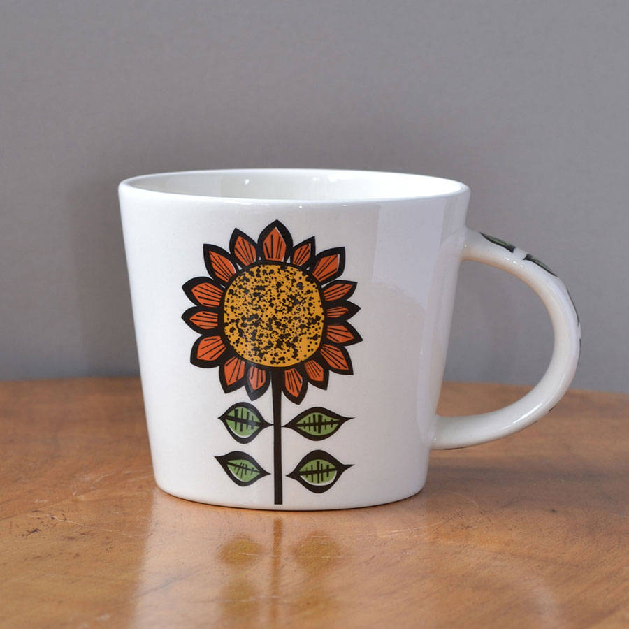 Image of: Great Sunflower Coffee Mug