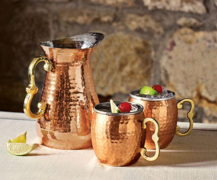 Image of: Hammered Copper Mugs Bad for You