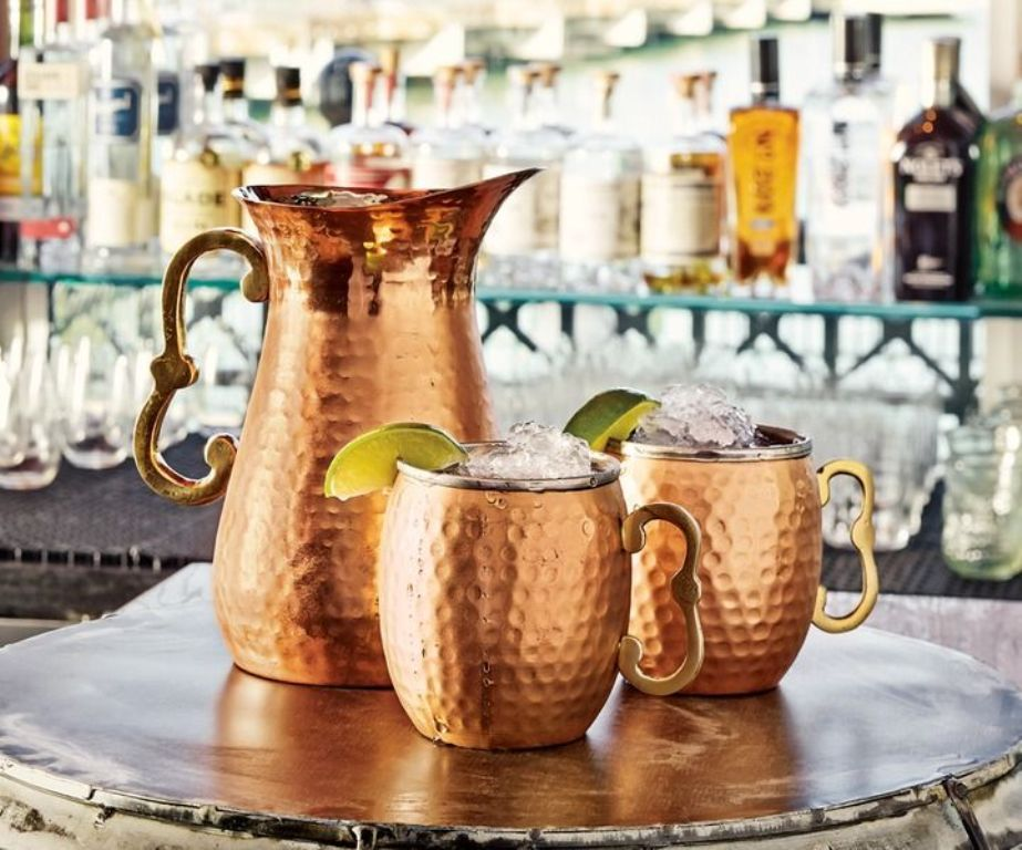 Image of: Hammered Copper Mugs Benefits