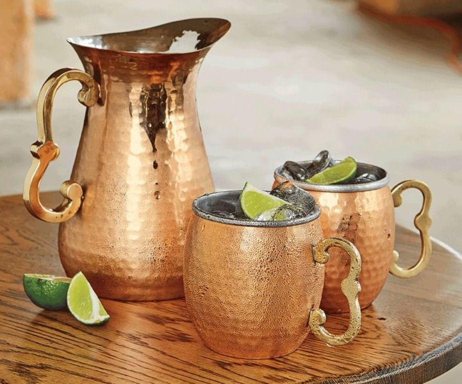 Image of: Hammered Copper Mugs Best Price