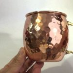 Hammered Copper Mugs Dishwasher