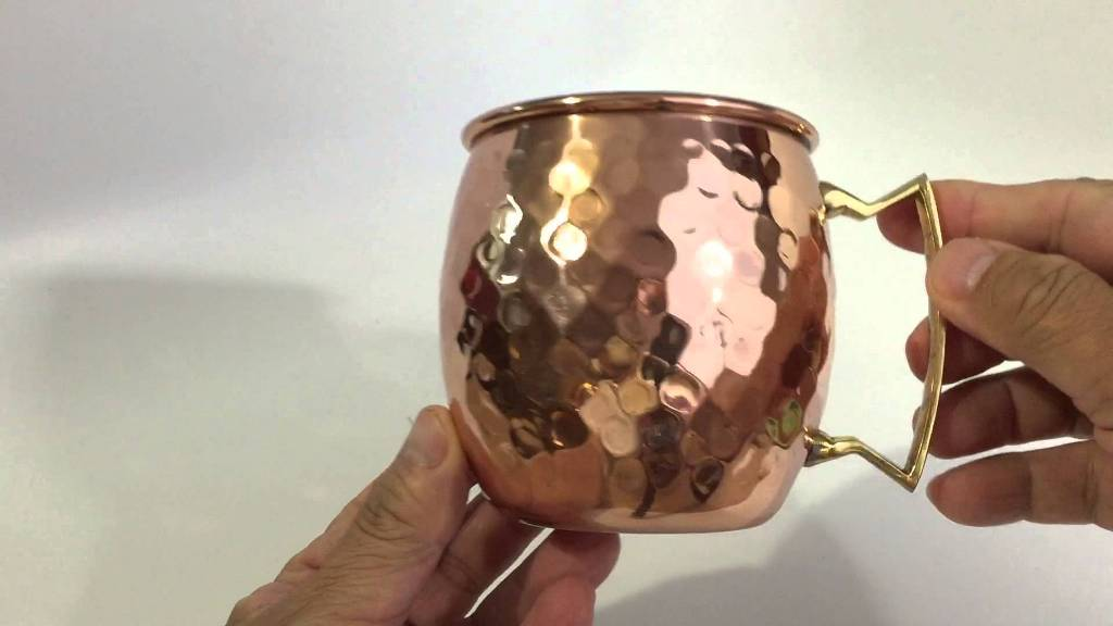 Image of: Hammered Copper Mugs Dishwasher