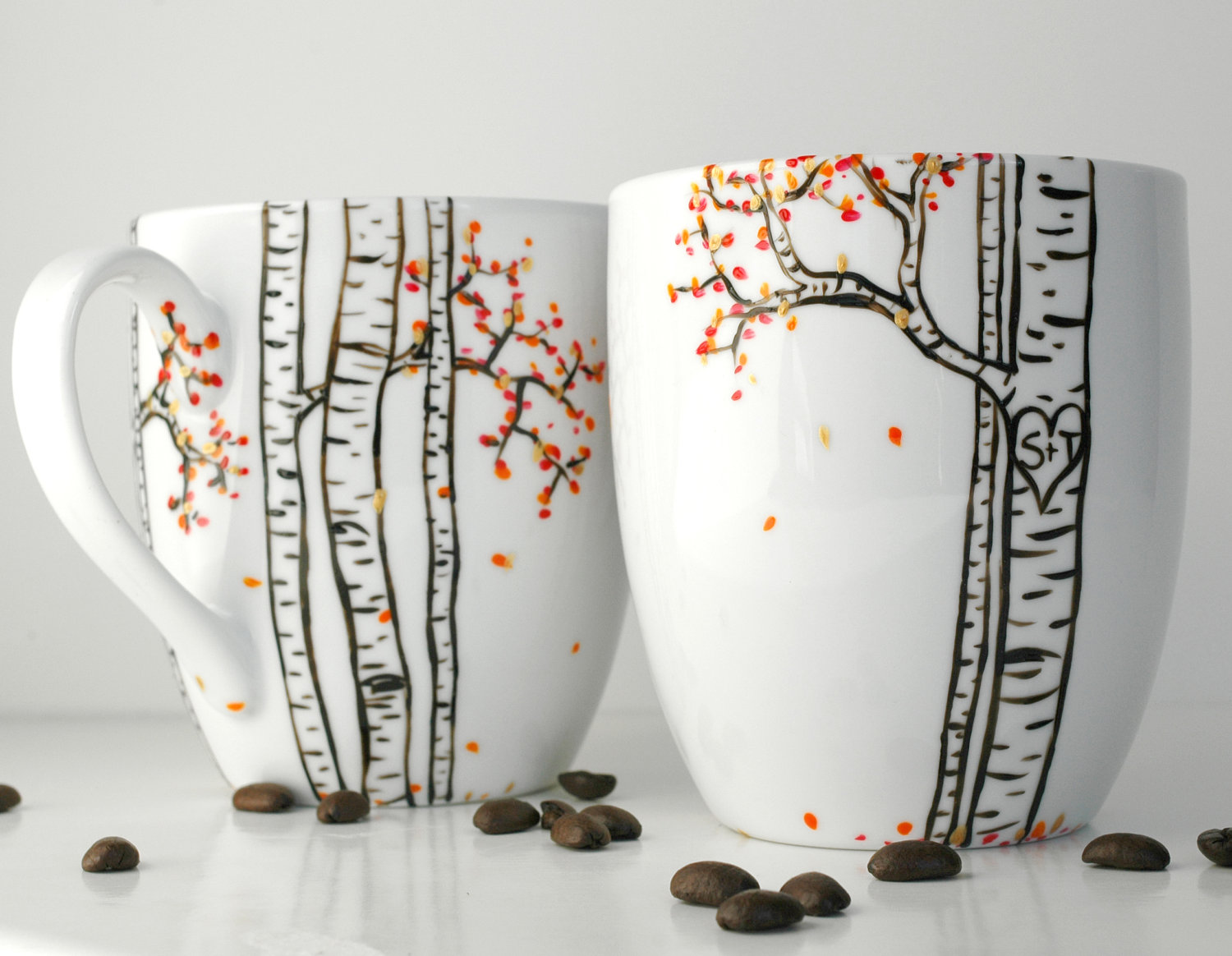 Image of: Hand Painted Walgreens Custom Mugs