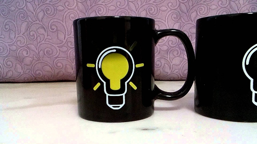 Image of: Heat Sensitive Mug Lamps