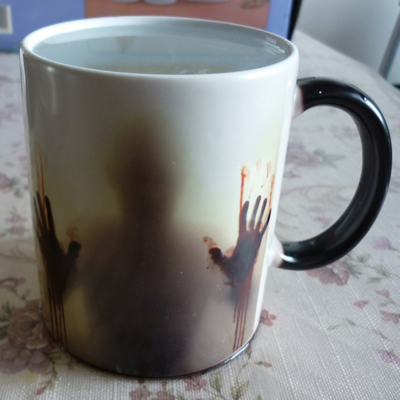 Image of: Heat Sensitive Mug Paint