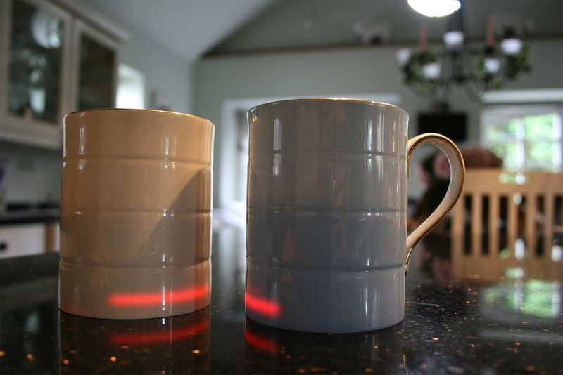 Heated Coffee Mug Led
