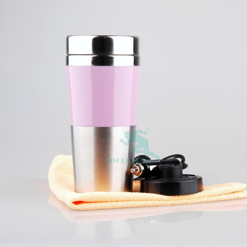 Image of: Heated Travel Mug Metal