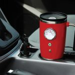 Heated Travel Mug Retro