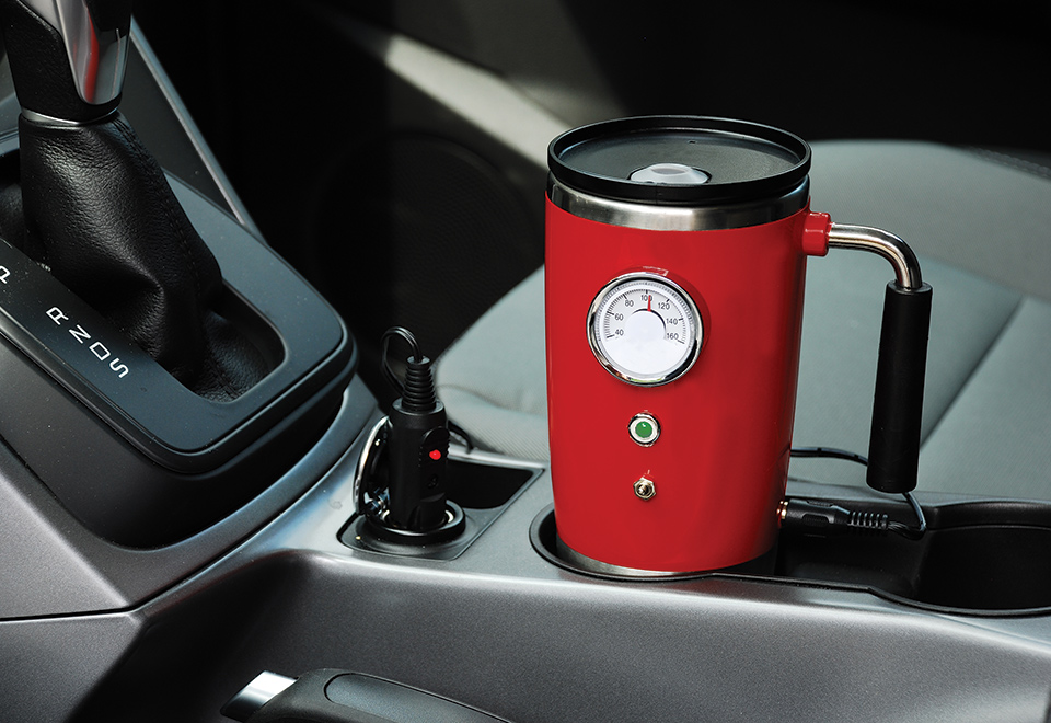 Image of: Heated Travel Mug Retro