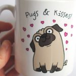 How to Draw a Pug Mug