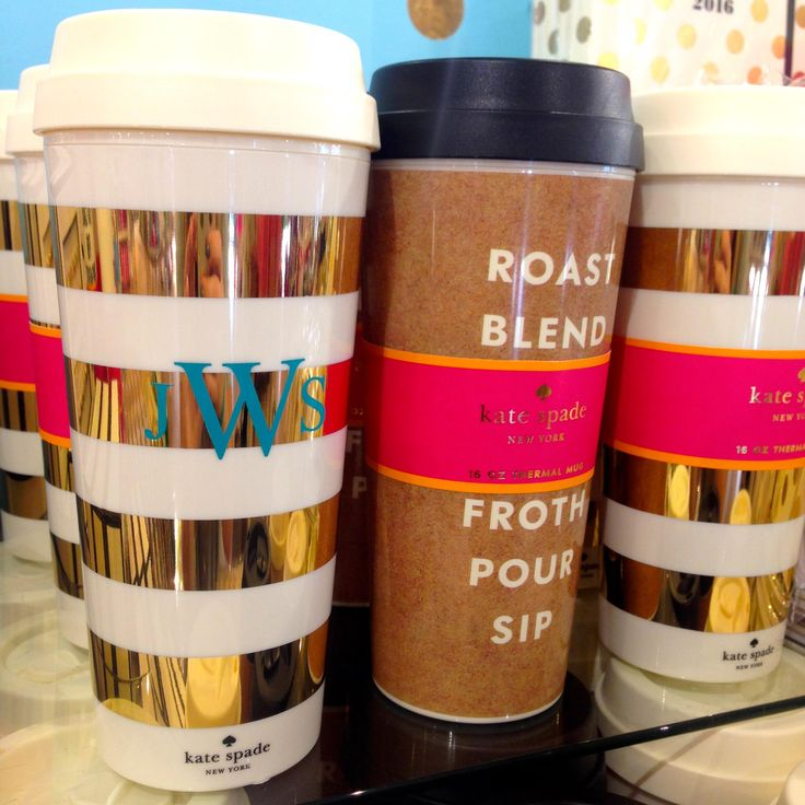 Image of: Idea Kate Spade Coffee Mug