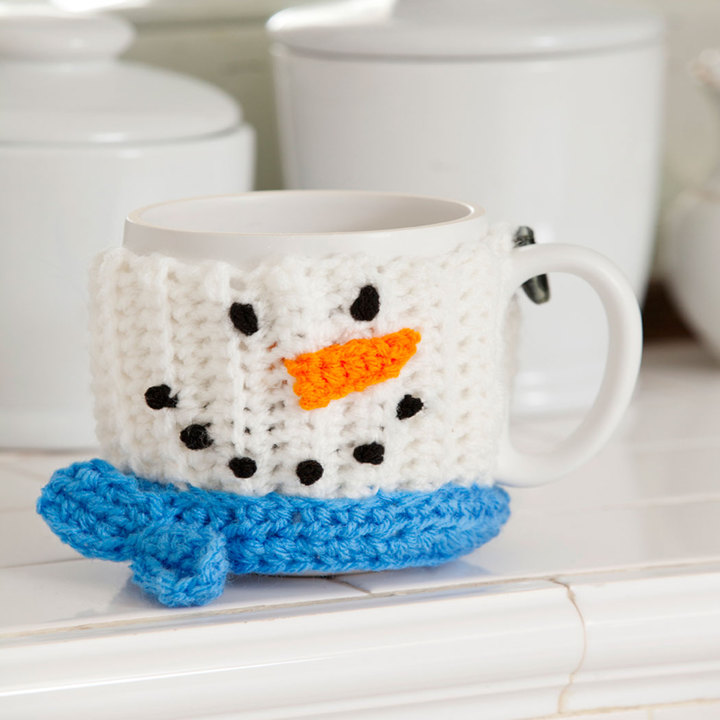 Image of: Idea Snowman Coffee Mug