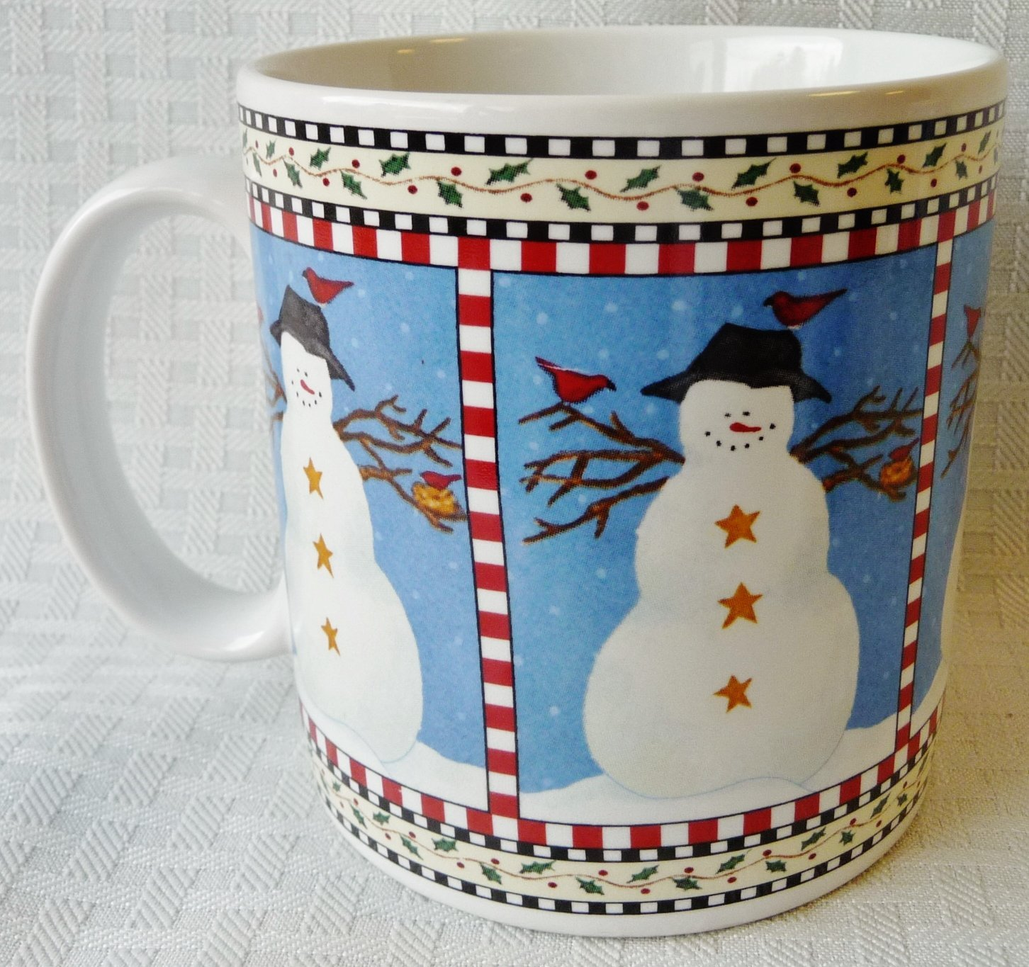 Image of: Ikea Snowman Coffee Mug