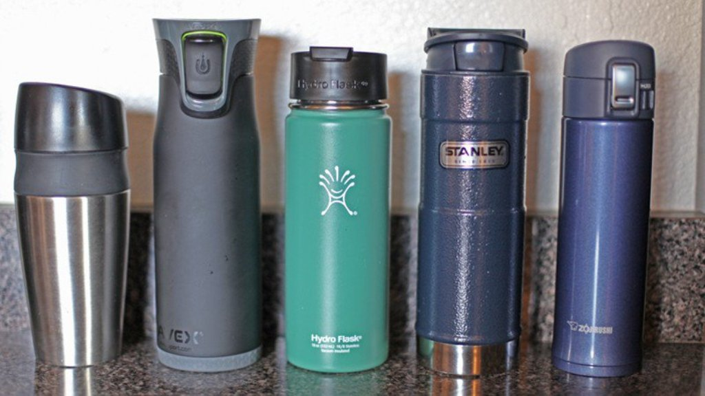 Insulated Mugs with Straws