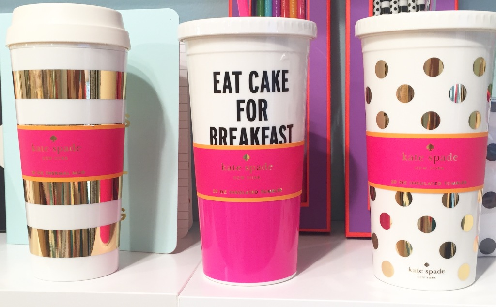 Image of: Kate Spade Mugs Illustrated
