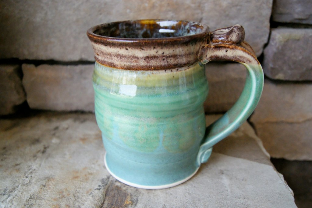 Large Stoneware Coffee Mugs
