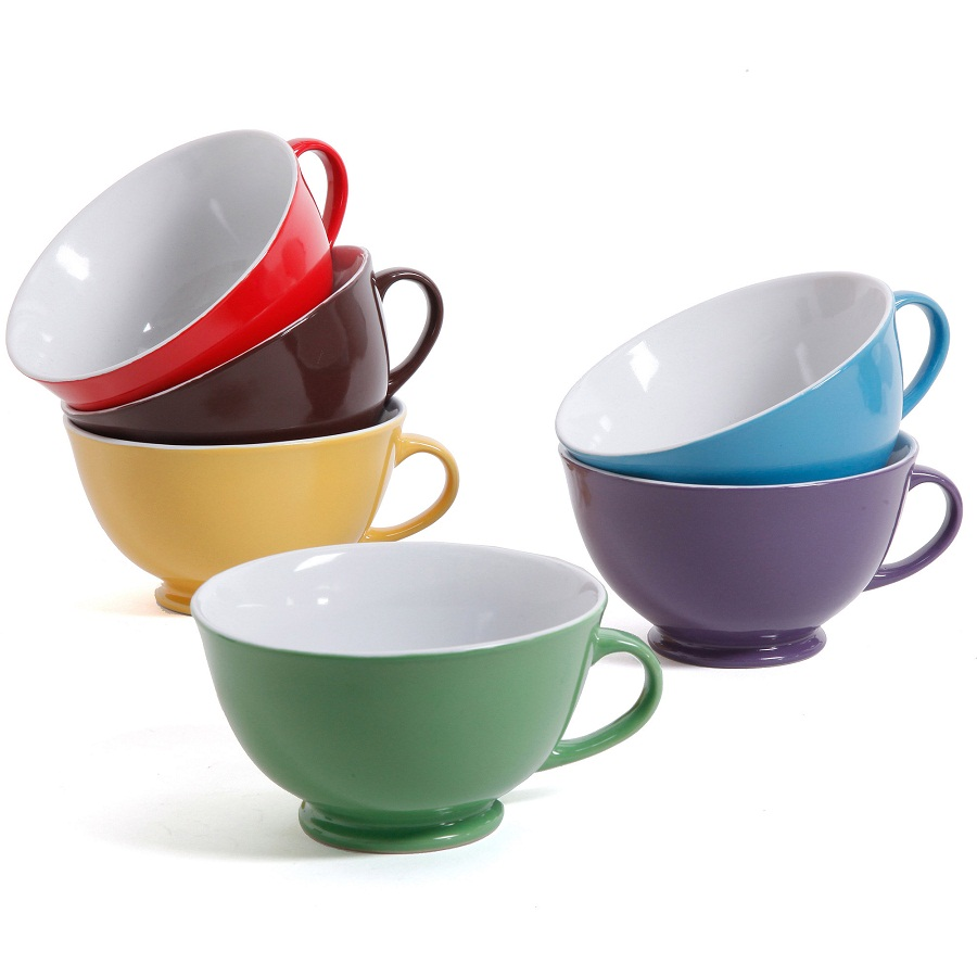 Image of: Latte Mugs Color Options