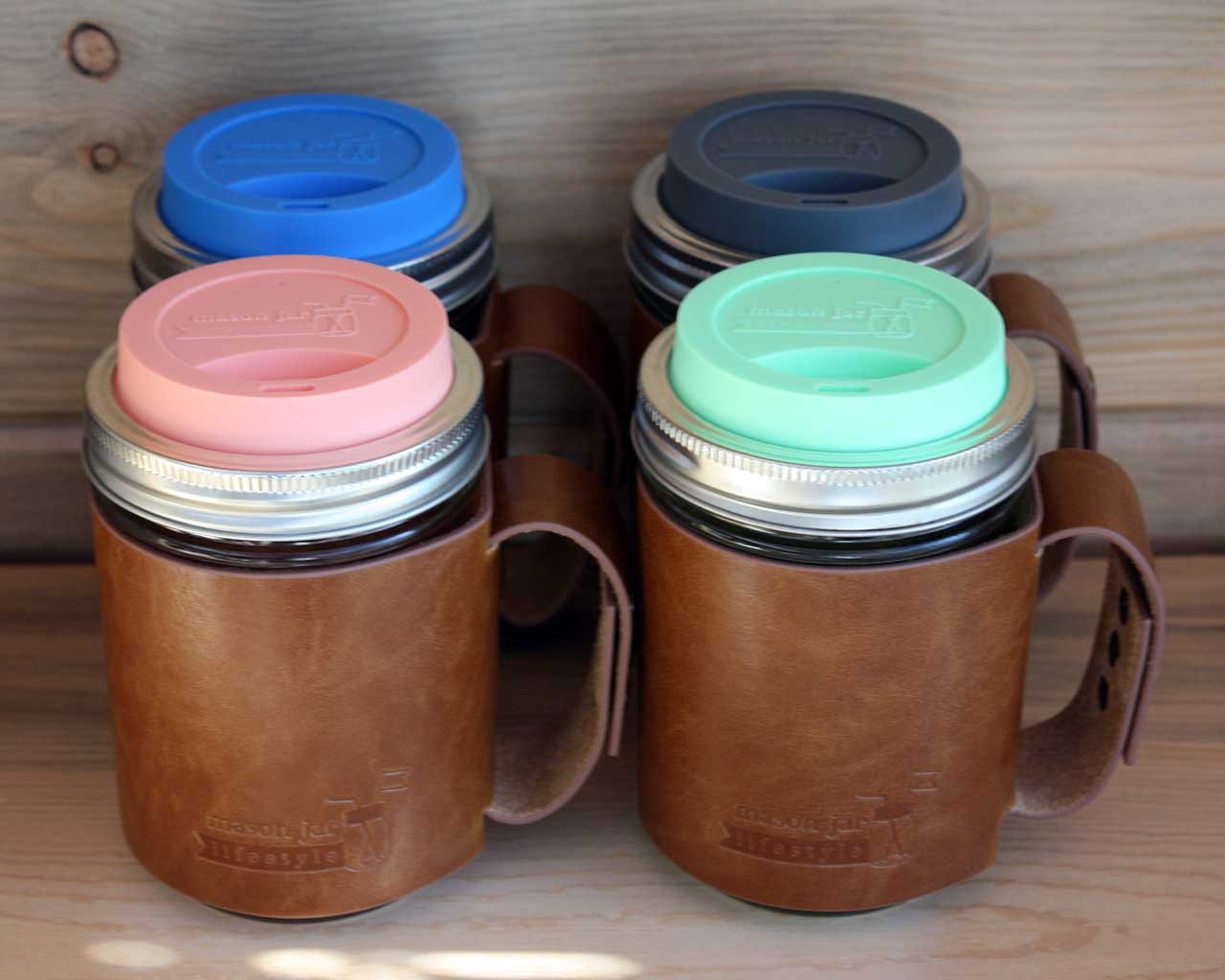 Image of: Mason Jar Coffee Mug Silicone