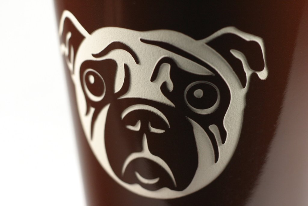 Image of: Mean Pug Mug