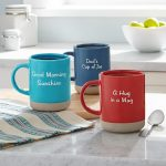Message Customizable Mugs